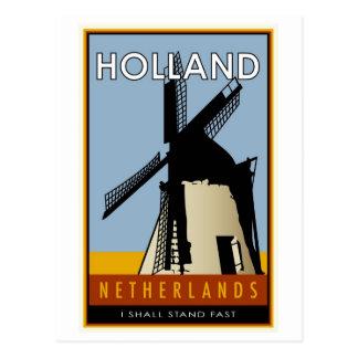 die Niederlande Postkarte
