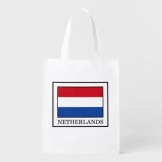 Die Niederlande Wiederverwendbare Einkaufstasche