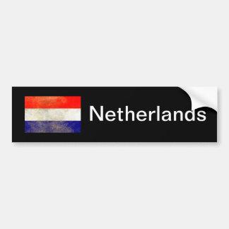 Die niederländische Flagge Autoaufkleber