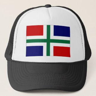 Die niederländische Groningen-Flagge Truckerkappe