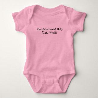 DIE NIEDLICHSTE JÜDISCHE BABY-ROSA-NIEDLICHE BABY STRAMPLER