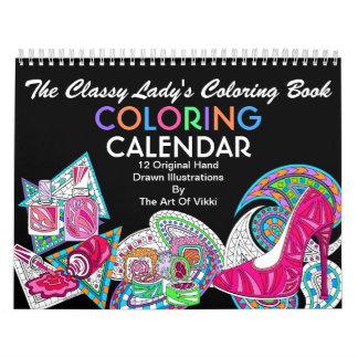 Die noble Farbe Ladys Malbuch-| dieser Spaß Abreißkalender