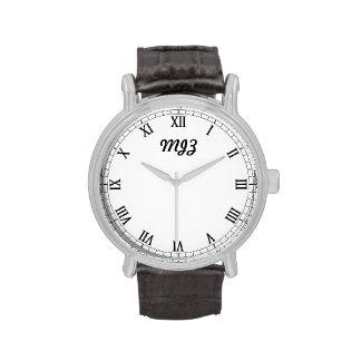Die noble personalisierte Uhr der Männer
