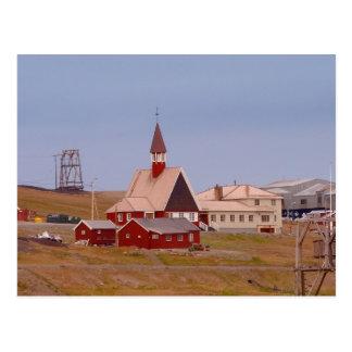 Die nördlichste Kirche der Welt Postkarte
