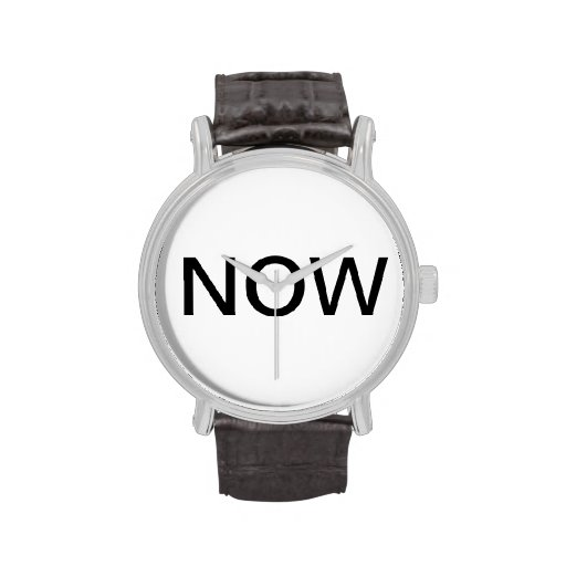 Die now-Uhr