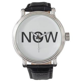 Die now-Uhr Armbanduhr