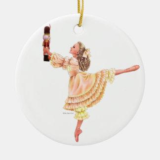 Die Nussknacker-Ballett-Andenken-Verzierung mit Keramik Ornament