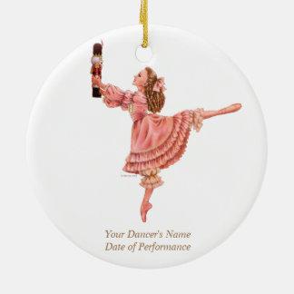 Die Nussknacker-Ballett-Andenken-Verzierung Rundes Keramik Ornament