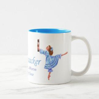 Die Nussknacker-Ballett-Clara-Tasse Zweifarbige Tasse