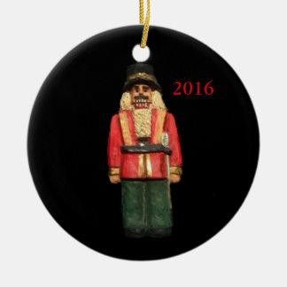 DIE NUSSKNACKER-WEIHNACHTSkollektor-VERZIERUNG Keramik Ornament