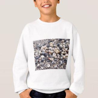 Die Oberfläche der Seeküste mit Sweatshirt