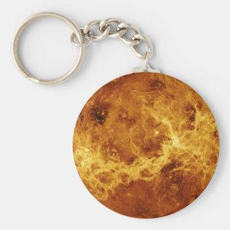 Die Oberfläche von Venus Standard Runder Schlüsselanhänger