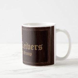 Die offizielle GrenzeReivers Kaffee-Tasse Kaffeetasse
