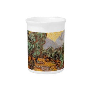 Die ölbäume von Vincent van Gogh (treesoliven) Krug