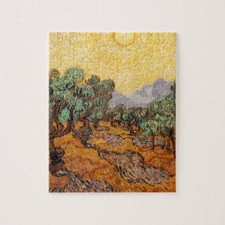 Die ölbäume von Vincent van Gogh (treesoliven) Puzzle