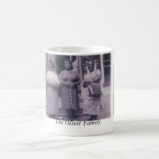 Die Oliver-Familie Kaffeetasse