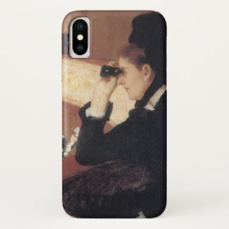 Die Oper durch Mary Cassatt, Vintager iPhone X Hülle