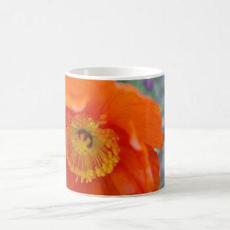 Die orange Blume Verwandlungstasse