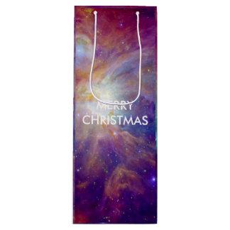Die Orions-Nebelfleckkosmosgalaxie-Universum NASA Geschenktüte Für Weinflaschen