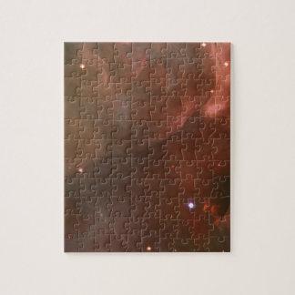 Die Orions-Nebelflecklachsrosa NASA Puzzle