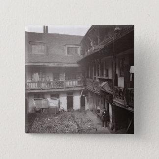 Die Oxford-Arme in Warwick Weg, 1875, von 'Histo Quadratischer Button 5,1 Cm