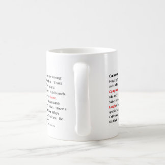 Die Paar-Manifest-Schale Kaffeetasse