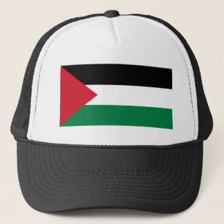 Die palästinensische Flagge (علمفلسطين) Truckerkappe