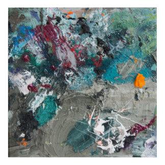 Die Palette des Malers Acryl Wandkunst