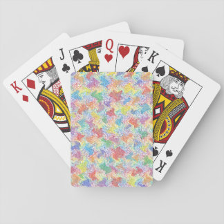 Die Palette eines Künstlers Spielkarten