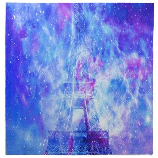 Die Pariser Träume des Liebhabers Stoffserviette