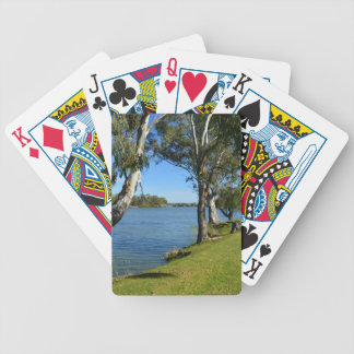 Die Park-Bank, Berri, Südaustralien, Bicycle Spielkarten