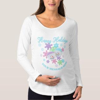 Die Pastellweihnachtsplätzchen, die Mamma Schwangerschafts T-Shirt