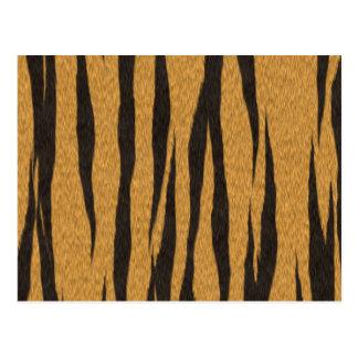 Die Pelzsammlung - Tiger Postkarte
