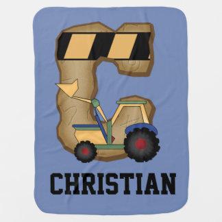 Die personalisierten Geschenke des Christen Kinderwagendecke
