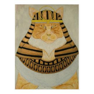 Die Pharao-Katze Postkarte