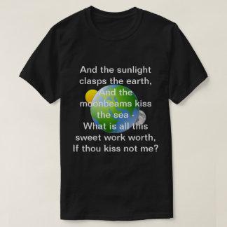 Die Philosophie der Liebe durch Percy Bysshe T-Shirt