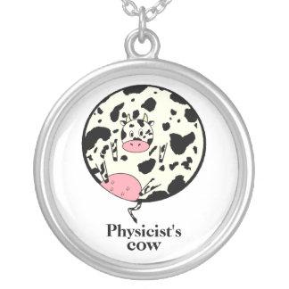 Die Physik-Kuh Versilberte Kette