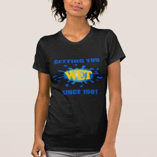 Die Piranha-Produkte, die Sie erhalten, machten T-Shirt