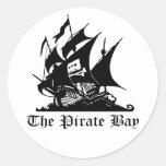 Die Piraten-Bucht-Aufkleber