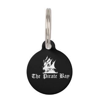 Die Piraten-Bucht Haustiermarke