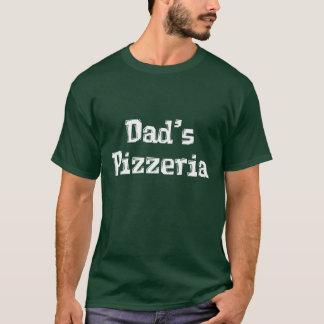 Die Pizzeria-Geschenke des Vatis T-Shirt