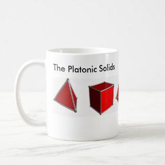 Die platonischen Körper Kaffeetasse