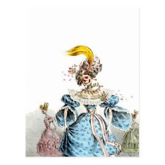 Die Pneumonie-Kleiderpostkarte des Todes Postkarten