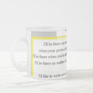 Die Politik des Versicherungs-Verkäufers Kaffeetassen
