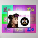 Die Pop-Kunst Richard III (2) Plakatdruck