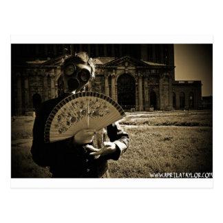 Die Posten-Apokalyptische Prinzessin bis April Postkarte
