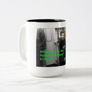 Die Posten-Digitale Walt Whitman Kaffee-Tasse Zweifarbige Tasse