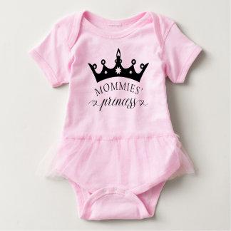 Die Prinzessin Baby Tutu Bodysuit Shirt der Mamas