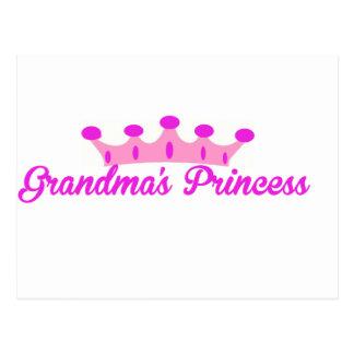 Die Prinzessin der Großmutter Postkarte