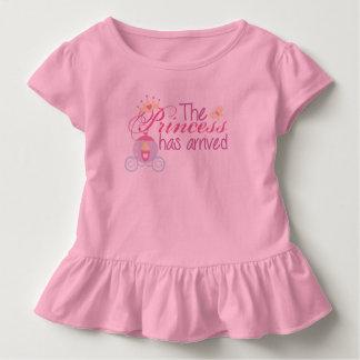 Die Prinzessin ist angekommen Kleinkind T-shirt